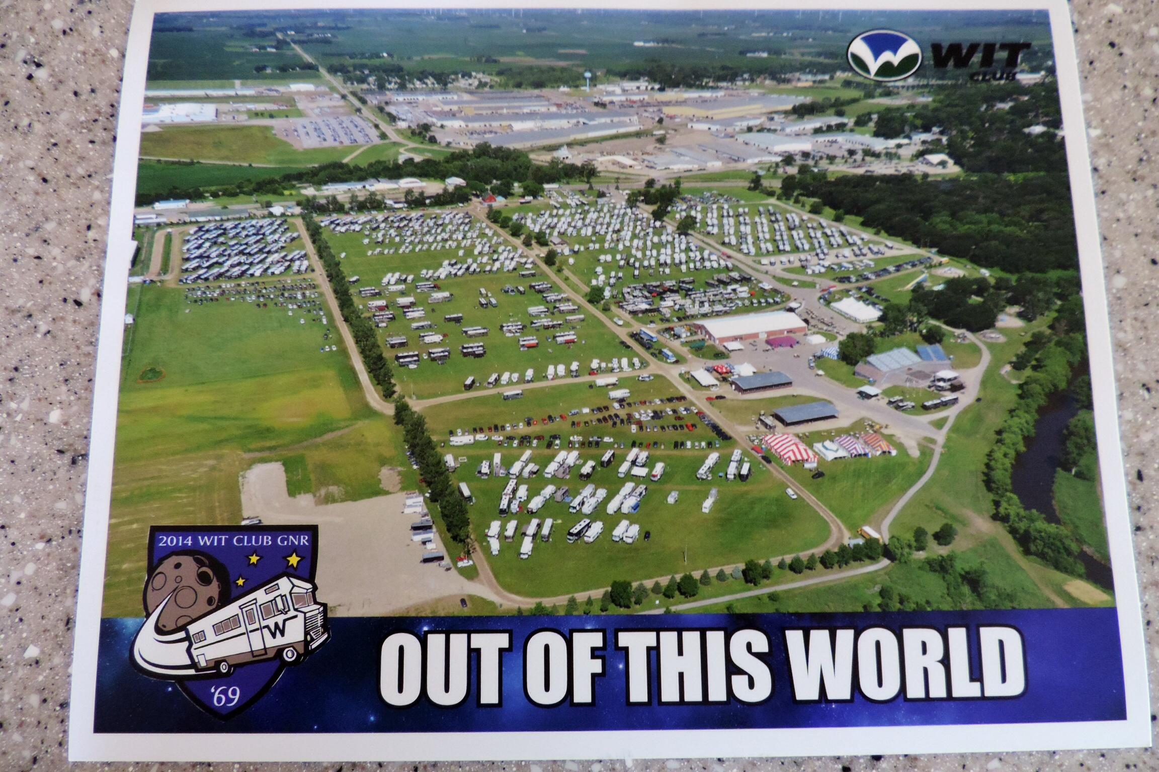 Winnebago National Rally – Forest City, Iowa   suncruisin