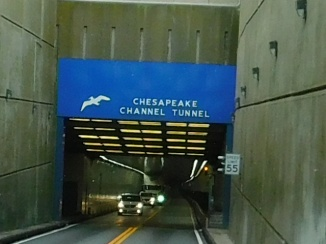 These are the two tunnels.